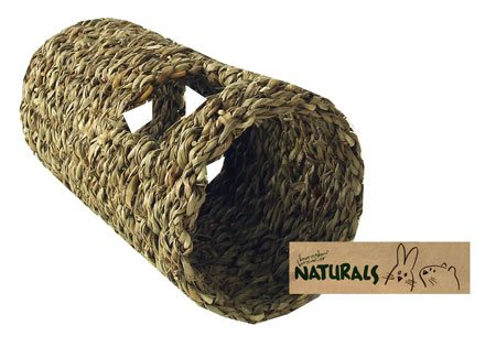 Boredom Breaker NATURALS Seagrass Play Tunnel Small Pets Small Animals from N/A
