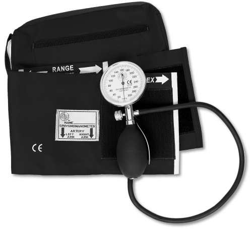 NCD Medical Black One Handed Professional BP Set from NCD MEDICAL