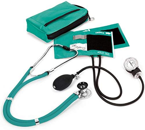 NCD Medical Sprague with Blood Pressure and Stethoscope Kit with Matching Teal from NCD MEDICAL
