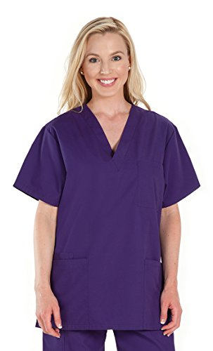 NCD Medical 3X-Large Grape Scrub Top from NCD MEDICAL