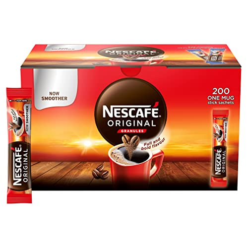 Nescafé Original Instant Coffee Stick Packs, Box of 200 from NESCAFÉ