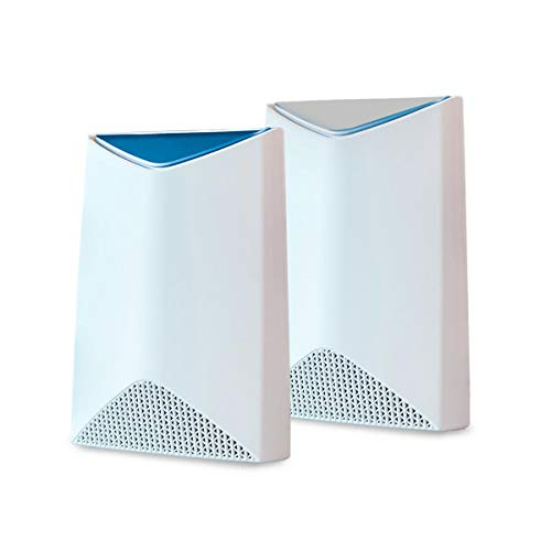 NETGEAR Orbi Pro Tri-Band Mesh WiFi System (SRK60) -- Router & Extender Replacement covers up to 5,000 sq. ft., 2 Pack, 3Gbps Speed Router & 1 Satellite, white from NETGEAR