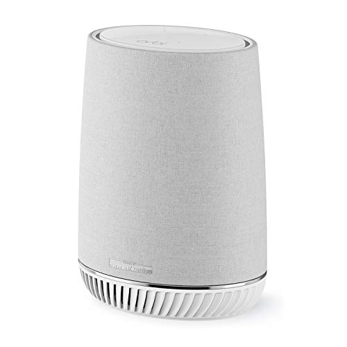 NETGEAR RBS40V-100EUS Orbi Home Mesh Wifi, Expansion, Smart Speaker, Amazon Alexa Built-In, White from NETGEAR