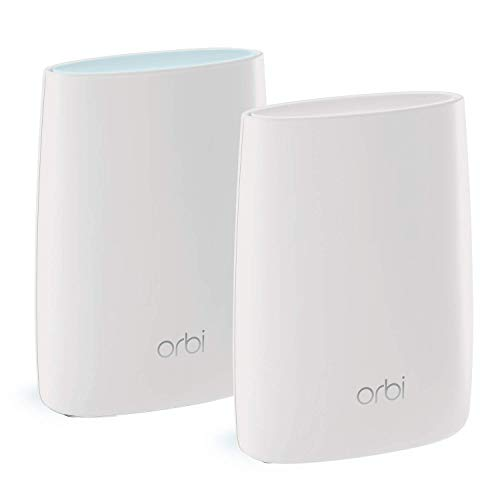 NETGEAR Orbi Ultra-Performance Whole Home Mesh WiFi System (RBK50) – Router with 1 Satellite Extender, Coverage up to 4,000 sq. ft., AC3000 (Up to 3Gbps) from NETGEAR