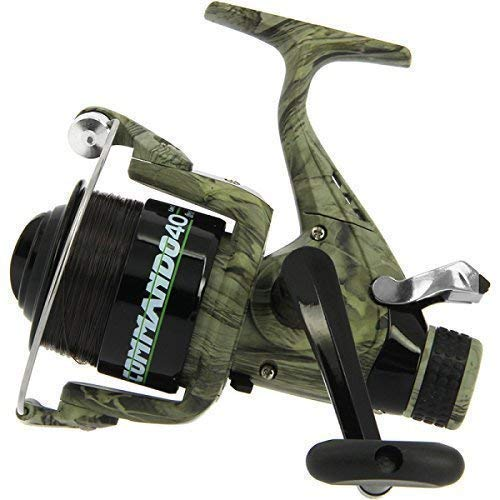 Carp Fishing Lineaeffe Camko Commando 40 Bait Free Runner Reel + Spare Spool from NGT