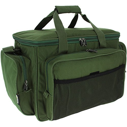 Green Insulated Fishing Carryall Carp Fishing Tackle Bag 709 from NGT