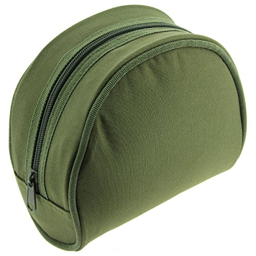 NGT Unisex Olive Padded Reel Case, Green, One Size from NGT