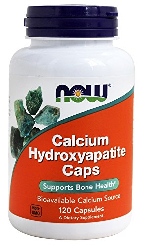 Calcium Hydroxyapatite, 120 Capsules, 250 mg, From NOW by Now Foods from NOW Foods