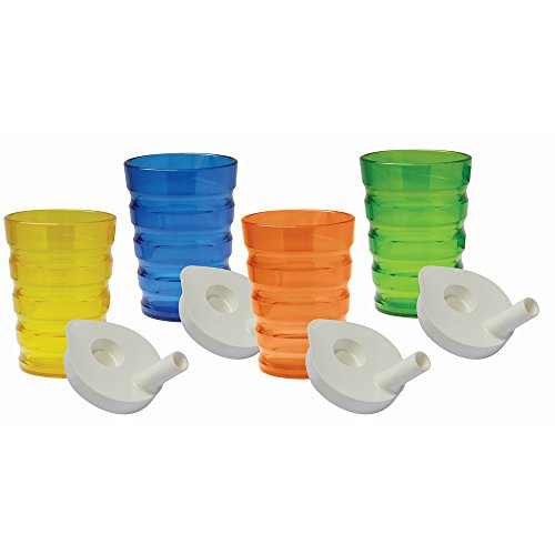 NRS 200 ml Easy Grip Beaker - Pack of 4 from NRS Healthcare