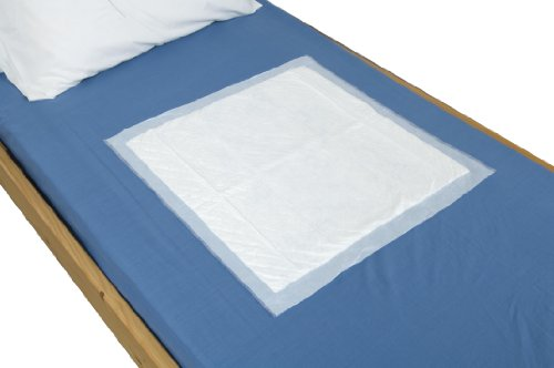 "NRS Disposable Bed Incontinence Protection Pad, Size: 60 x 60cm (23.5 x 23.5"") - Pack of 35 from NRS Healthcare"