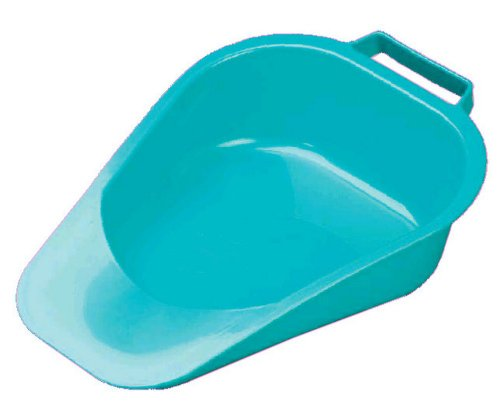 NRS Healthcare Adult Slipper Bed Pan (Eligible for VAT relief in the UK) from NRS Healthcare