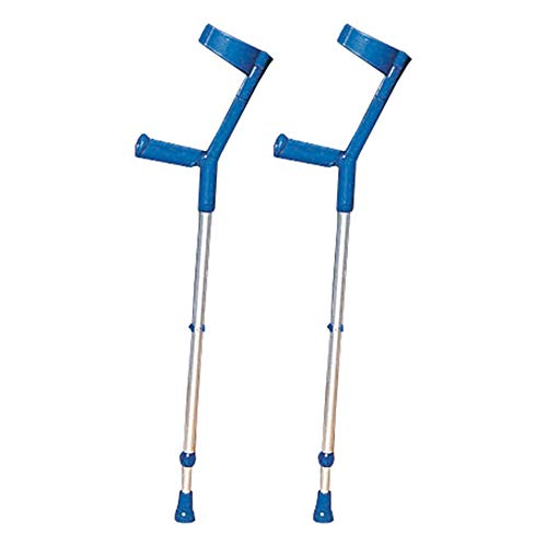 NRS Healthcare Comfort and Style Crutches - Pair (Eligible for VAT relief in the UK) from NRS Healthcare