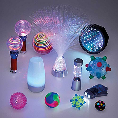 NRS Healthcare Dark Den Accessory Kit - Light Resources for Sensory Stimulation from NRS Healthcare