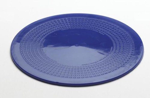NRS Healthcare Dycem Non-Slip Circular Mat 19 cm (7.5 inches) Diameter, Blue from NRS Healthcare