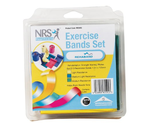 NRS Healthcare Exercise Bands Set from NRS Healthcare