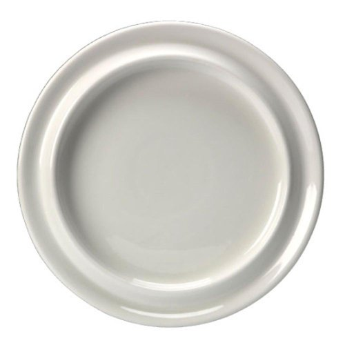 NRS Healthcare Large Steelite Plate, 26 cm (101/4 Inches) Diameter from NRS Healthcare