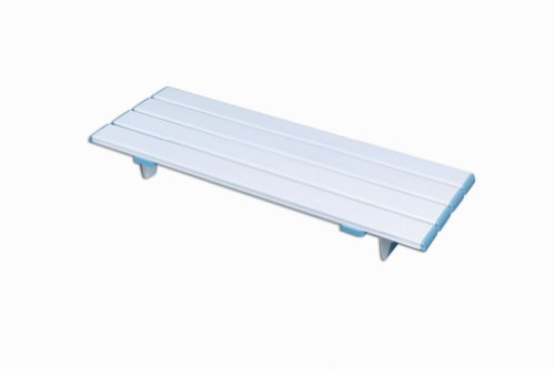 NRS Healthcare Nuvo Slatted Shower Board 70 cm (27.5 inches) Length (Eligible for VAT relief in the UK) from NRS Healthcare