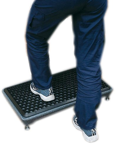 NRS Healthcare Plastic Half-Step Door Access Aid, 11 cm/4.5 Inches Step Height (Eligible for VAT relief in the UK) from NRS Healthcare
