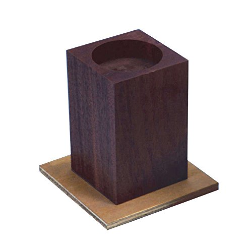 NRS Healthcare Wooden Cube Style Bed Raisers, 15 cm (6 inches) Height (Eligible for VAT relief in the UK) from NRS Healthcare