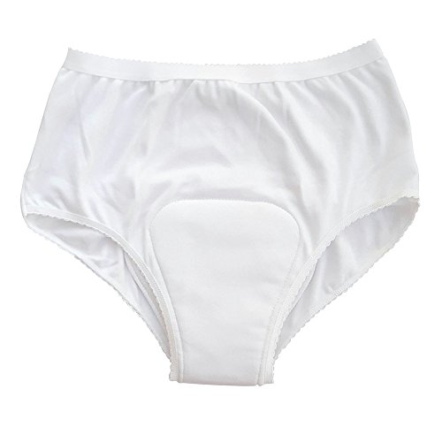 P&S Washable Absorbent Ladies Briefs / Knickers- Medium (Eligible for VAT relief in the UK) from NRS Healthcare