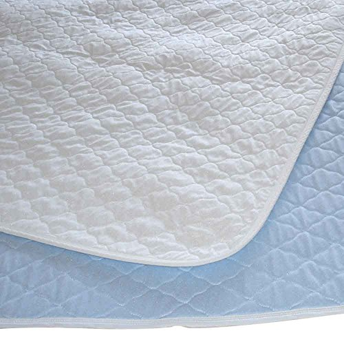 P&S Washable Bed Pad or Incontinence Protector– Single with wings (Eligible for VAT relief in the UK) from NRS Healthcare