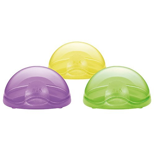 2 NUK Soother Travel Box Pod Holders from NUK