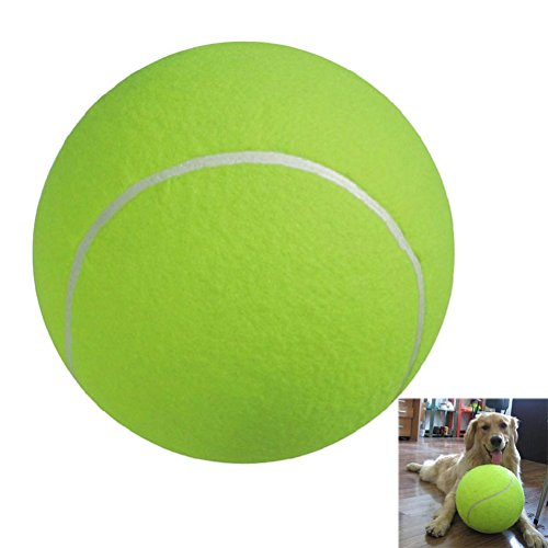 NUOLUX Tennis Ball for Large Pet Toys Outdoor Sports Beach 9.5-inch from NUOLUX