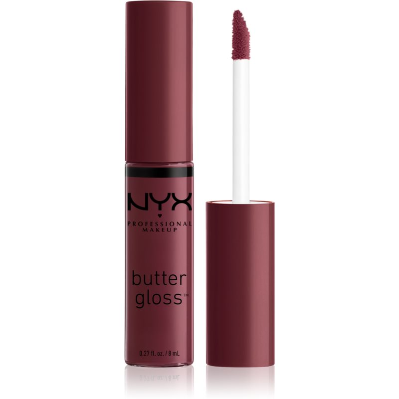 NYX Professional Makeup Butter Gloss Lip Gloss Shade 22 Devil's Food Cake 8 ml from NYX Professional Makeup