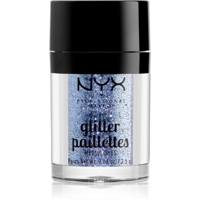 NYX Professional Makeup Glitter Goals Metallic Glitter for Face and Body Shade 02 Darkside 2,5 g from NYX Professional Makeup