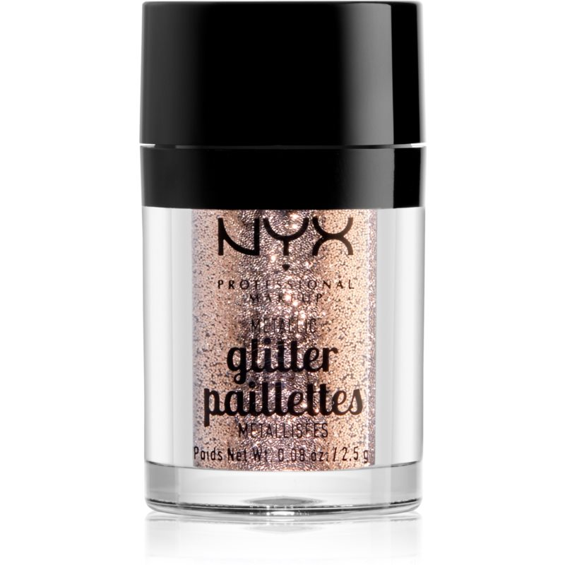NYX Professional Makeup Glitter Goals Metallic Glitter for Face and Body Shade 04 Goldstone 2,5 g from NYX Professional Makeup