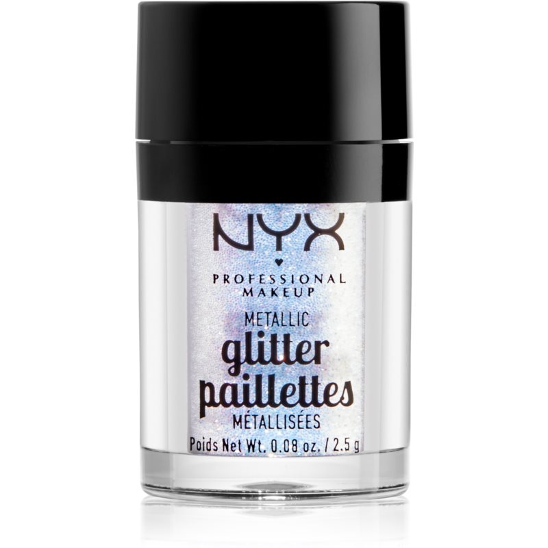 NYX Professional Makeup Glitter Goals Metallic Glitter for Face and Body Shade 05 Lumi-lite 2,5 g from NYX Professional Makeup