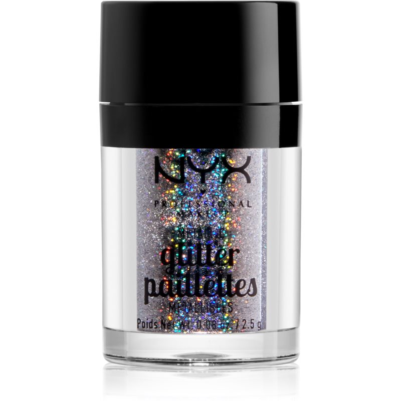 NYX Professional Makeup Glitter Goals Metallic Glitter for Face and Body Shade 06 Style Star 2,5 g from NYX Professional Makeup