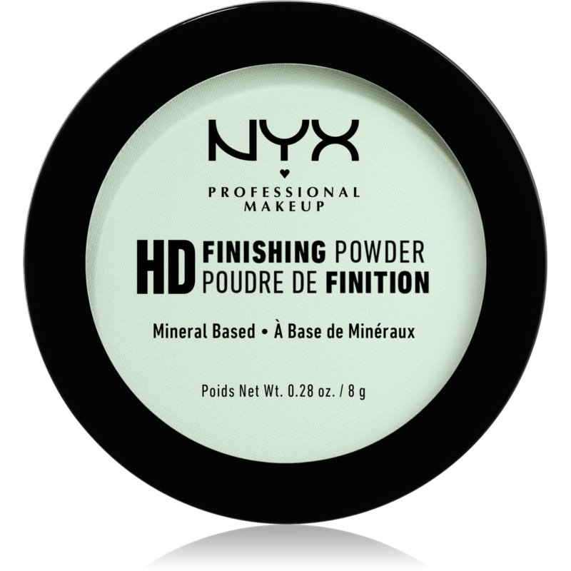 NYX Professional Makeup High Definition Finishing Powder Powder Shade 03 Mint Green 8 g from NYX Professional Makeup