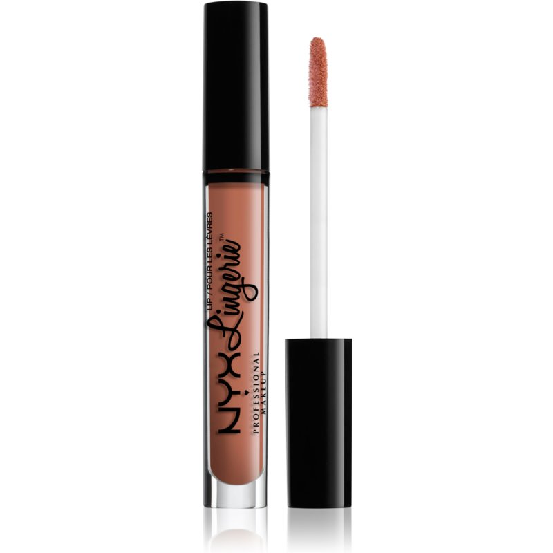 NYX Professional Makeup Lip Lingerie Matte Liquid Lipstick Shade 11 Baby Doll 4 ml from NYX Professional Makeup
