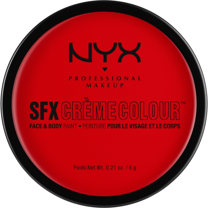 NYX Professional Makeup SFX Creme Colour™ Foundation for Face and Body Shade 01 Red 6 g from NYX Professional Makeup