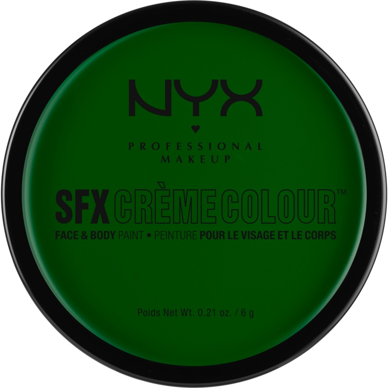 NYX Professional Makeup SFX Creme Colour™ Foundation for Face and Body Shade 04 Green 6 g from NYX Professional Makeup