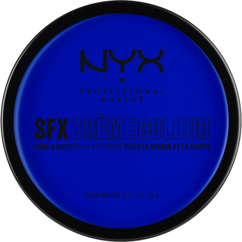 NYX Professional Makeup SFX Creme Colour™ Foundation for Face and Body Shade 05 Blue 6 g from NYX Professional Makeup
