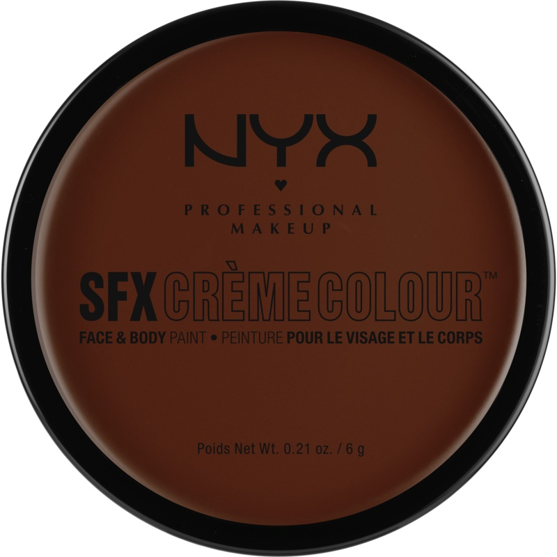 NYX Professional Makeup SFX Creme Colour™ Foundation for Face and Body Shade 08 Brown 6 g from NYX Professional Makeup