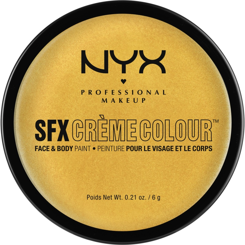 NYX Professional Makeup SFX Creme Colour™ Foundation for Face and Body Shade 11 Gold 6 g from NYX Professional Makeup