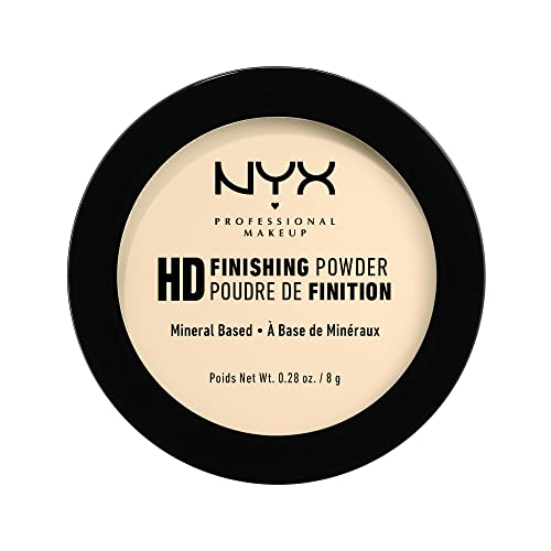 High Definition Finishing Powder Single Eén maat banana from NYX Professional Makeup