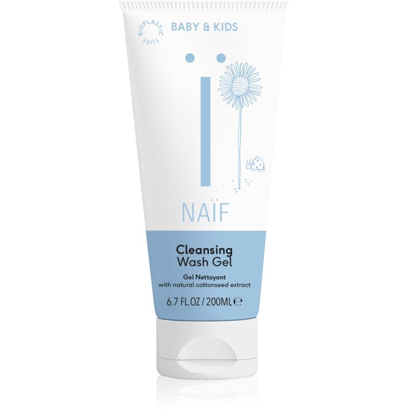 Naif Baby & Kids Cleansing Wash Gel for Kids & Babies 200 ml from Naif
