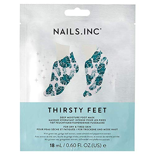 Nails Inc Thirsty Hands, Super Hydrating Foot Mask from Nails Inc