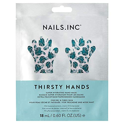Nails Inc Thirsty Hands, Super Hydrating Hand Mask from Nails Inc