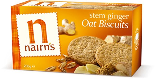 (12 PACK) - Nairns Stem Ginger Biscuits - Wheat Free| 200 g |12 PACK - SUPER SAVER - SAVE MONEY from Nairn's Oatcakes