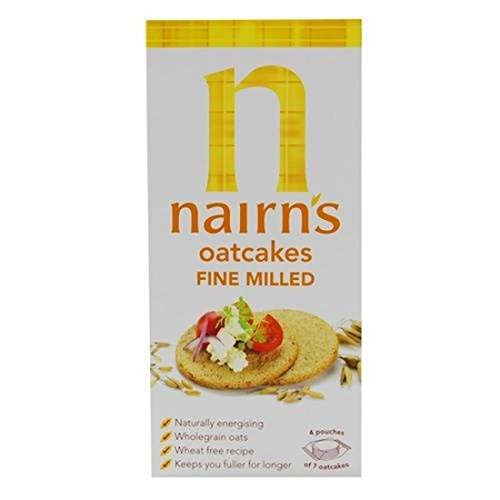 Nairns | Oatcakes - Fine | 4 x 218g from Nairn's