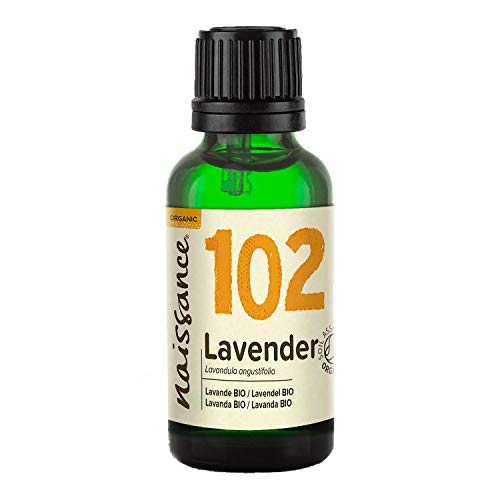 Naissance Fine Lavender Essential Oil 30ml Certified Organic 100% Pure from Naissance