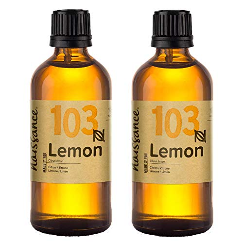 Naissance Lemon Essential Oil 200ml (2x100ml) 100% Pure from Naissance