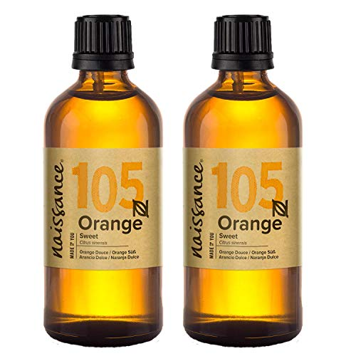 Naissance Sweet Orange Essential Oil 200ml (2x100ml) 100% Pure from Naissance