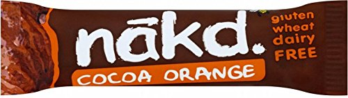 Nakd Cocoa Orange Gluten Free Bar (35g) - Pack of 6 from Nakd