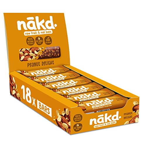 Nakd Peanut Delight Bar 35 g (Pack of 18) from Nakd